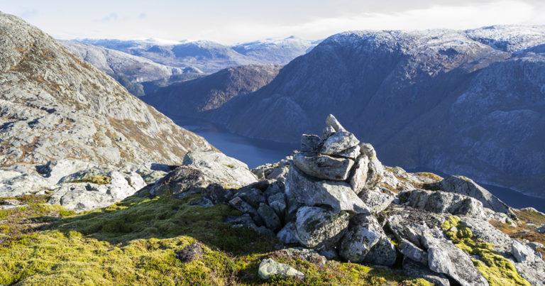 Børjenesfjellet i Velfjord, Nordland