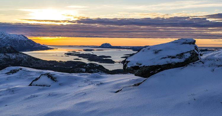 Fjelltur i Velfjord, Brønnøy, Nordland