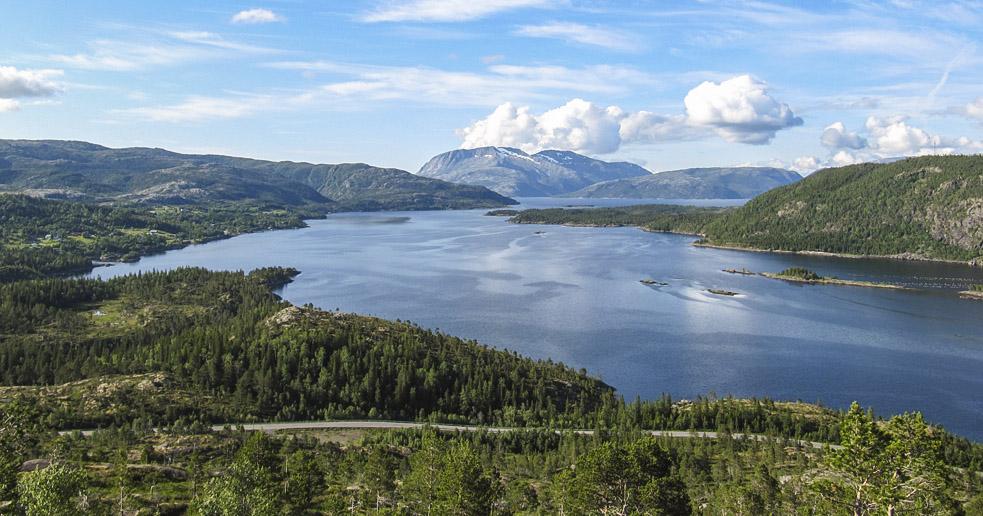 Hallaraunfjellet i Velfjord, Brønnøy