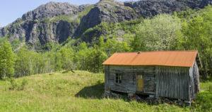 Ødegård i Velfjord, Nordland