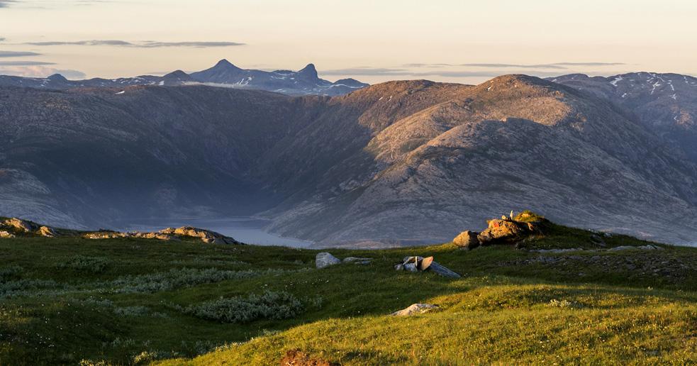 Sæterfjellet i Velfjord, Nordland