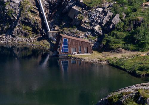 Helgelandskrafts installasjoner