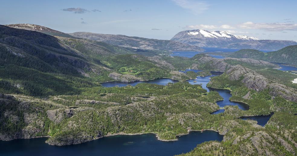 Kromfjellet - Turer i Nordland