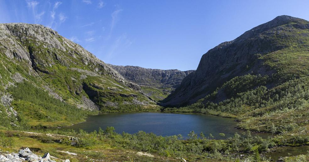 Toshålvatnet - turer i Nordland