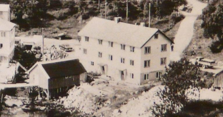 Biblioteket i Herredshuset på 1950-tallet