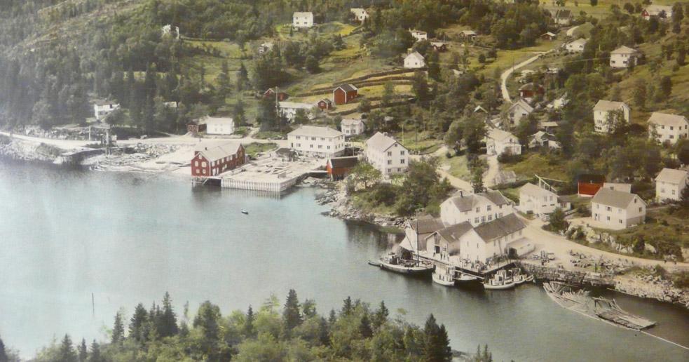 Hommelstø på 1950-tallet
