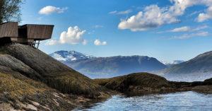 Utsiktspunkt mot Lomsdal - Visten Nasjonalpark