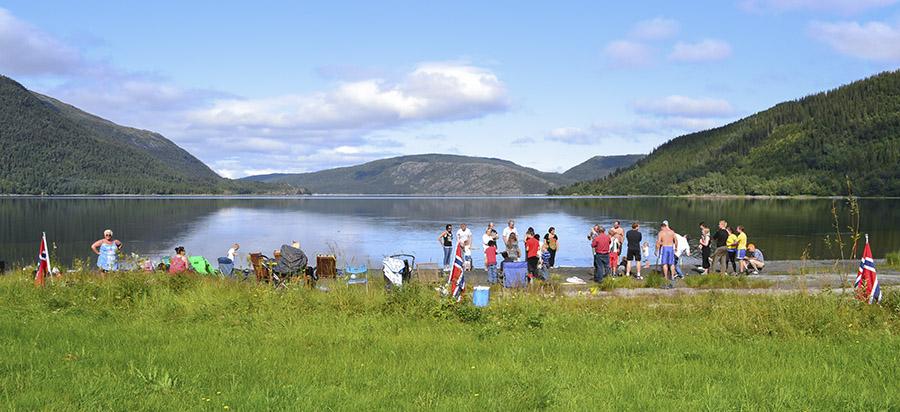 OL Sausvatn - arrangemetsområdet