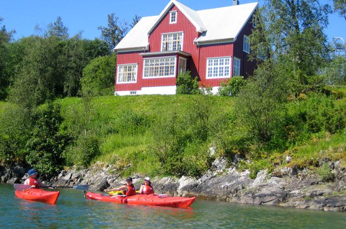 Fjordholt feriehus