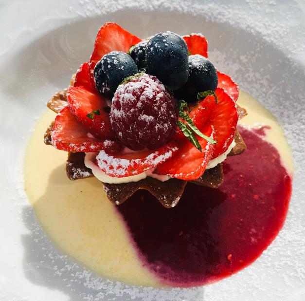 Persplassen - dessert