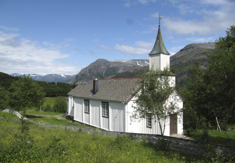 Severdighet - Lande kapell