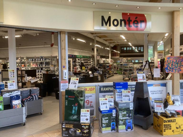 Monter - Hommelstø Trelast