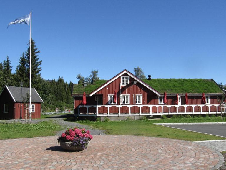 Hommestø sentrum - Persplassen