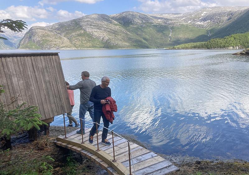 Utsikt mot Lomsdal - Visten Nasjonalpark