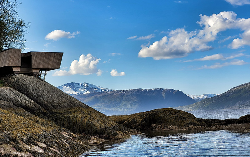 Utsiktspunkt (Foto: Nasjonalparkstyret)