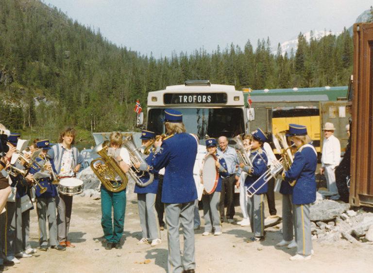Gjennomslag i Tosentunnellen 1986