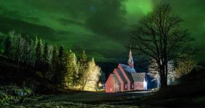 Velfjord kirke i Nøstvik