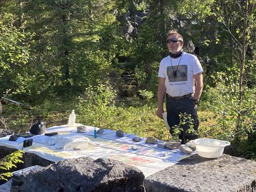 Geolog Terje Fjeldheim