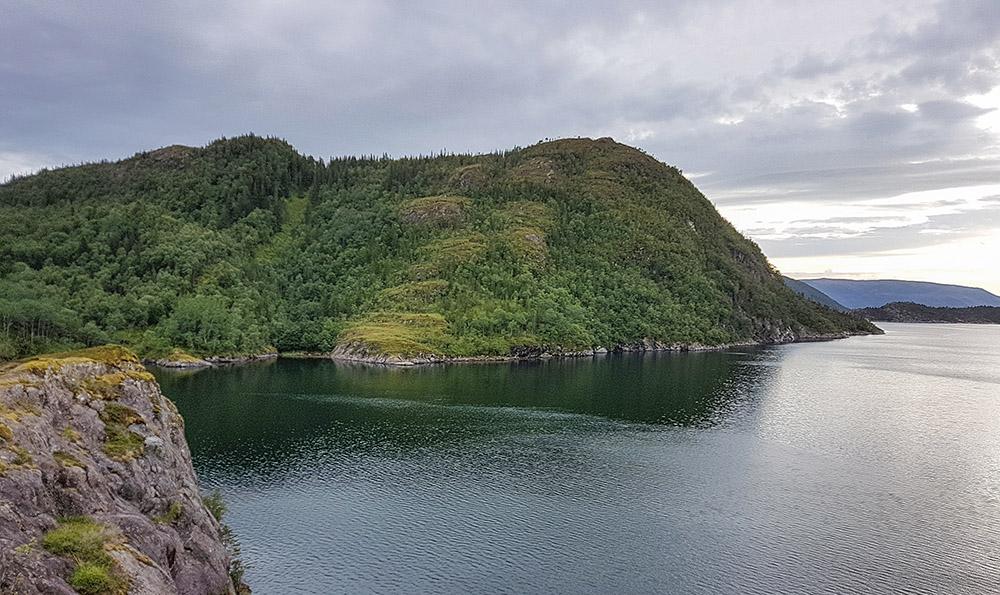 Ørntuva i Gravfjorden