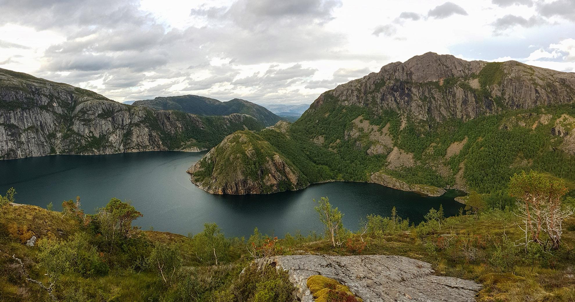 Ørntuva ved Gravfjorden
