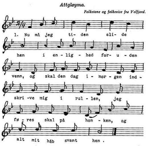 Folkemusikk - Attgloyma