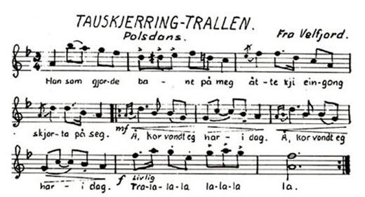 Folkemusikk - Tauskjerringtrallen